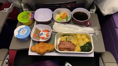 バンコク・プーケット旅行⑧2019/11/18-24 食事 BKK→NRT airport