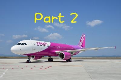 SALEで買ったPeachの航空券はゴミ箱に行っちゃうの? Part 2