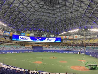 生ビールとナゴヤドームの新しい野球観戦様式ヤクルト戦観戦