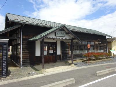 所用のついで・宮城県内に出かけてきた【その1】 かつての栗原電鉄・若柳駅跡へ