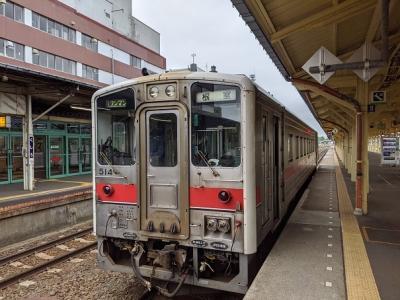 釧路から花咲線に乗って根室への道東旅行