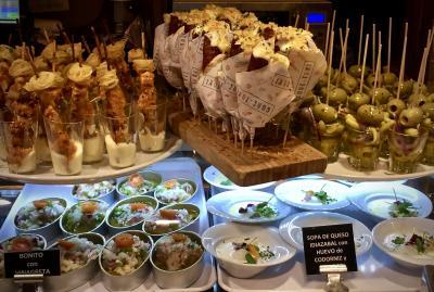 美食の街:バスク地方を巡るBARで「ほろ酔いグルメツアー」(サンパウロ→『ビルバオ』へ/31年ぶりのスペイン)