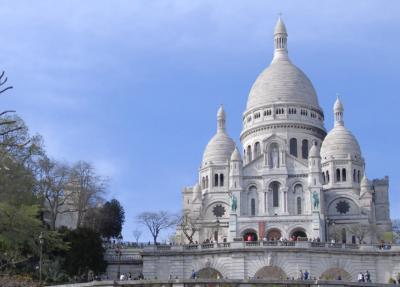 Paris * モンマルトルの丘