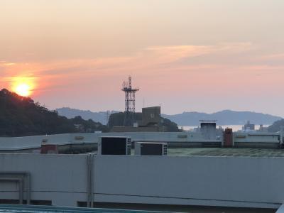 伊東園ホテル四季彩さんに行きました。翌朝~帰路です。