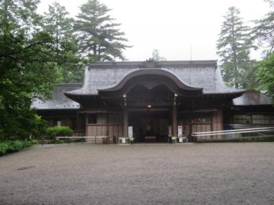 日光市街の稲荷神社から日光真光教会と田母沢御用邸記念公園へ