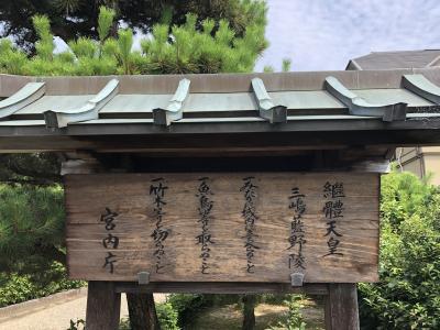 2020.8.4  (火)大阪/茨木市 26代継体天皇陵