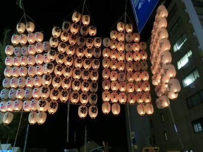2019 ②秋田竿燈 ダイヤモンドプリンセスで行く日本周遊 夏祭り12日間