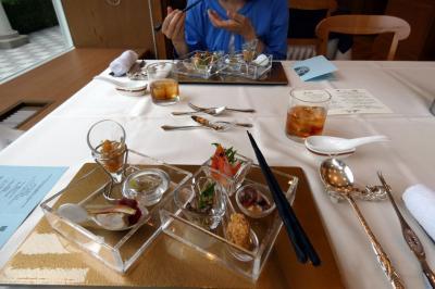 07.初夏のエクシブ山中湖2泊 イタリア料理 ルッチコーレでの中国料理 翠陽の夕食