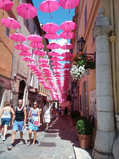 アンティーブ、グラース5日 (アンティーブ、グラース、インペリア、ジェノバ、ミラノの旅)