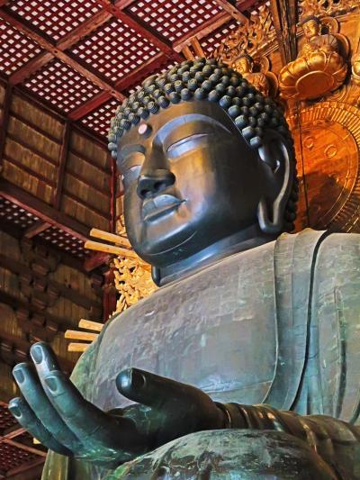奈良県-28 奈良市b 東大寺 国宝=〈盧舎那仏〉=大仏さん ☆直視拝観でき-閑散時季に
