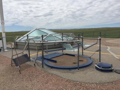 サウスダコタ州 ミニットマンミサイル国立史跡 ー デルタ-09ミサイル格納庫