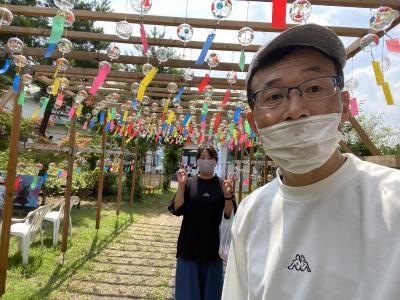 2020.8涼を求めて②醒ヶ井バイカモ・関が原古戦場