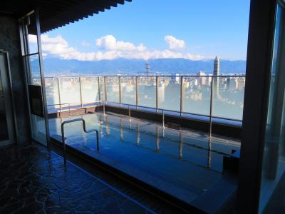 【宿泊レポ☆72】2020年6月OPEN! トレイン・富士山ビュー天然展望温泉の『城のホテル甲府』