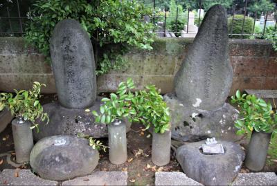 青山霊園で乃木希典大将のお墓に参拝