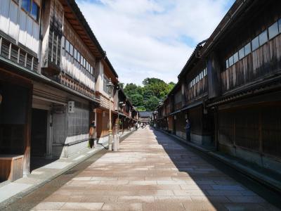 ~金沢のミシュラン名店はしご旅②~ゆっくり散策とお買い物