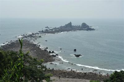 30年ぶりの岩海岸、40年ぶりの三ッ石♪ 記憶をたどる (?) 真鶴サイクリング