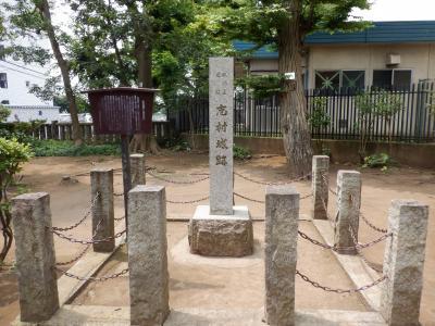 E AUG 2020  城北・・・・・①志村城跡