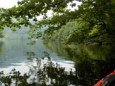 クロスカブで上越カヤックツーリング 奥利根湖