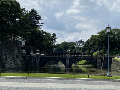 2020年8月 皇居周辺を散策