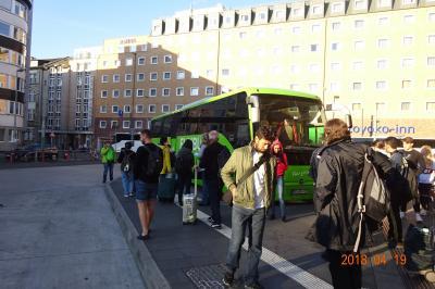 初めてのFlixbus! フランクフルトからハイデルベルク城へ