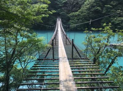 川根本町つり橋めぐり*寸又峡・夢のつり橋