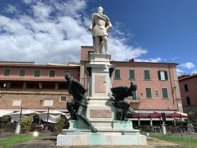 トスカーナの港町リボルノ。