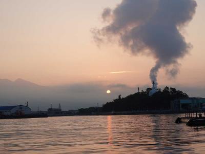自転車でGO!早朝バージョン =夜明けの田子の浦港まで行って来ました= 2020.08.04