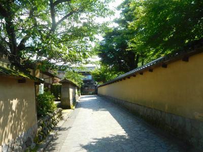 昼の金沢そぞろ歩き(金沢・能登の旅2020夏①)