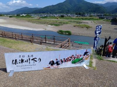 京の夏散策②涼を求めて保津川下り
