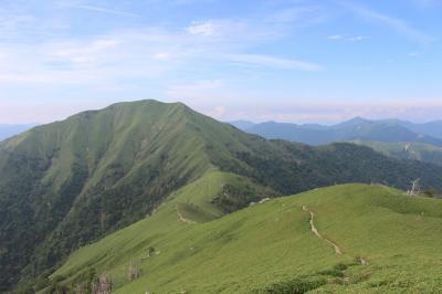 稜線を歩きたくて、四国・剣山へ