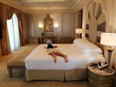 コロナ禍の豪華金満7つ星ホテル エミレーツパレスのスイート 48時間缶詰①全然客がいない。