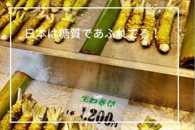 [日本は糖質にあふれている!] 1日目 東京から松本、そして高山へ。