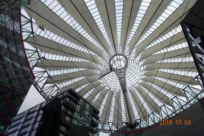 2019秋旅 統一記念日のブランデンブルク門、ベルリンテレビ塔は50歳、ソニーセンター20年の歩み