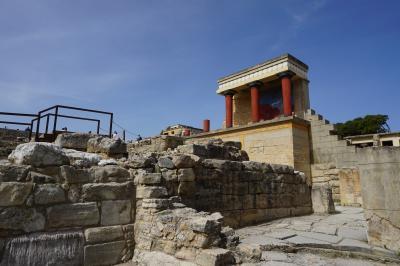 イギリス・ギリシャ・フランスへ☆5☆クレタ島 クノッソス宮殿跡へ