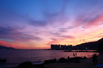 香港★海を眺めてのんびりな土曜日 夜は臺灣料理テイクアウト ~舊咖啡灣泳灘・叁茶陸飯~