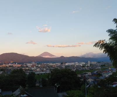 富士山の夏姿