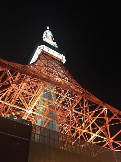 2020 東京を楽しむ夏①・山の日に東京タワーに登る!
