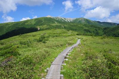折立から薬師岳~黒部五郎岳へ 1泊2日の縦走登山(小屋泊)