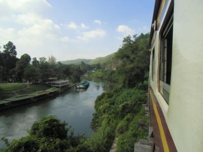 2014.11 ツアーで行ってみたタイランド(9)泰緬鉄道の見どころをもう一度。ナムトクからカンチャナブリーへ折返し。