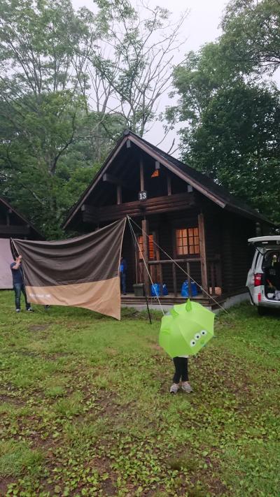 戸隠キャンプ場   記念すべきファーストキャンプ!