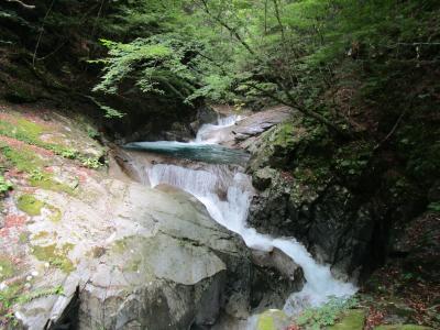 西沢渓谷へ避暑、車中泊の旅