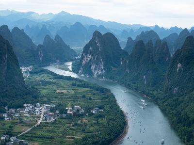 ドラゴンボール1巻の世界 桂林川下り
