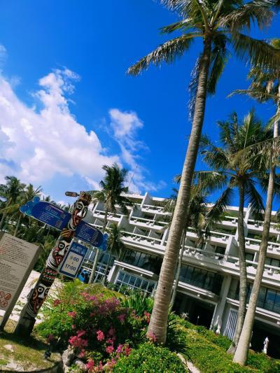 沖縄親子2人旅 2020/7 ① ホテルムーンビーチ