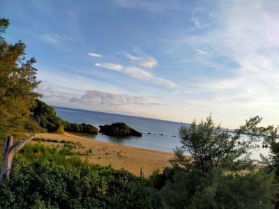 沖縄親子2人旅 2020/7 ② ベストウェスタン沖縄恩納ビーチ