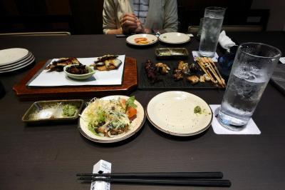 うなぎ処京丸の夕食