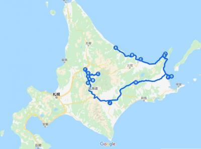 道東1000㎞自然と食 7日間の旅