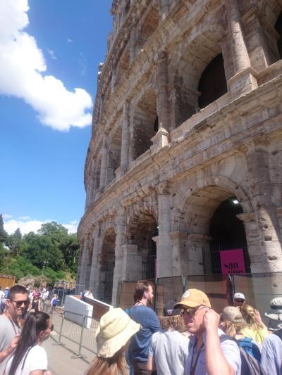 はじめてのイタリア ローマ 一人旅 2018年 5日目(ローマ・ヴァチカンの主要名所1日ツアー)