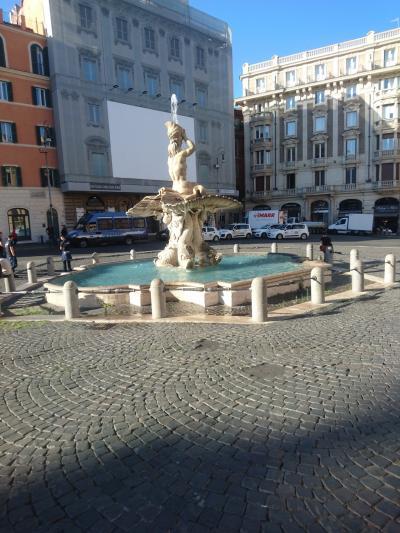 はじめてのイタリア ローマ 一人旅 2018年 6日目(トレビの泉、ナヴォーナ広場)