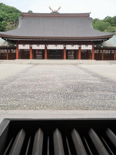 奈良県-8 橿原市a 橿原神宮 聖域の朝 清々しく参拝 ☆神武天皇-紀元2680年-伝統を誇り