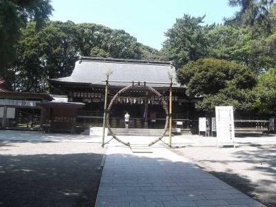 平塚に行った折に,平塚八幡宮,八幡山公園,そして平塚三嶋神社に行った